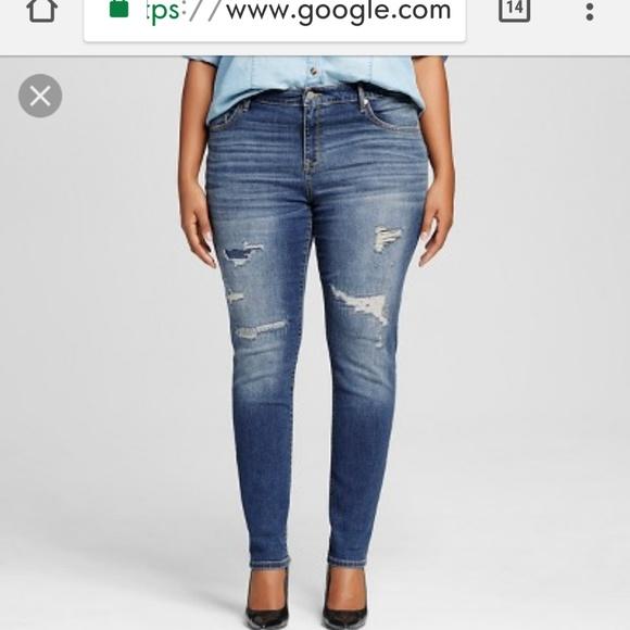 1db4351998c Ava   Viv Denim - NWOT Ava and Viv plus size skinny jean